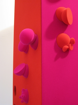 Twelve Glass Cabinets -The Red Dot - Zoe Robertson