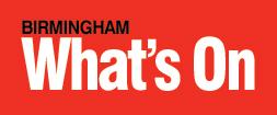 Whats on birmingham