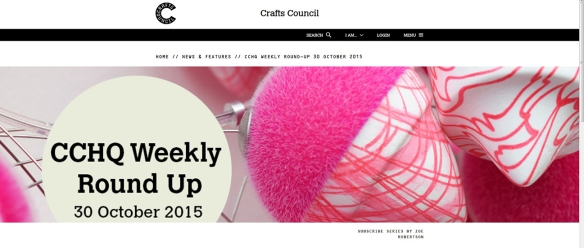Crafts Council - Maker of the week - Zoe Robertson 1