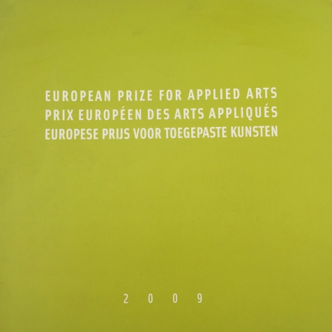 European Prize for Applied Arts exhibition catalogue ISBN 978 - 2 - 87536-000-7