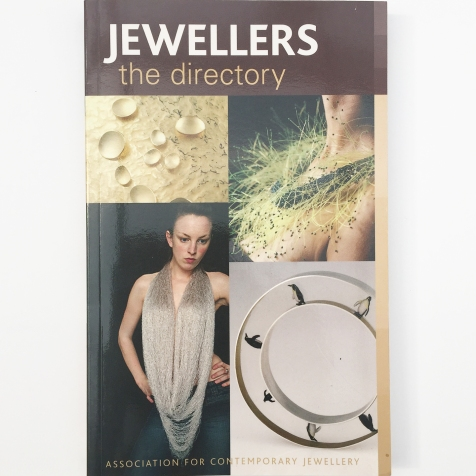 Jewellers Directory by Association for Contemporary Jewellery ISBN 978071368409