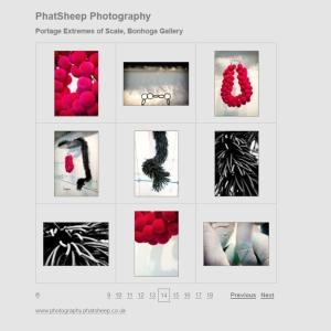 phatsheep photography - Portage extremes of Scale - Bonhoga Gallery
