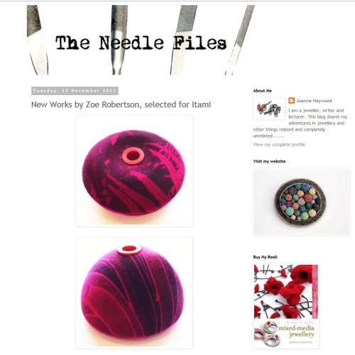 the needle files