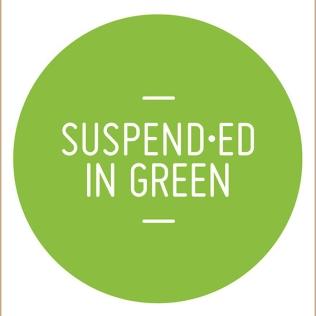 suspended in green - Zoe Robertson