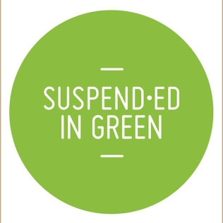 suspended in green - Zoe Robertson