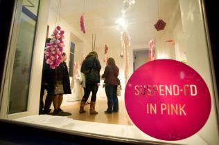 Suspended in pink - Zoe Robertson