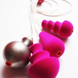 Zoe Robertson - jewellery artist - Flocking Marvellous 2010