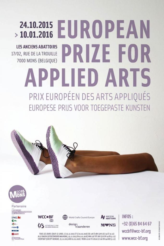 Zoe Robertson selected for European Prize for Applied Arts - mons, belguim www.wcc-bf.org