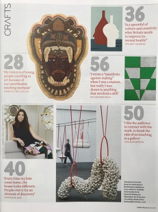 flockOmania created by Zoe Robertson featured in Crafts Magazine 2